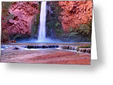Mooney Falls Greeting Card