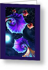 Moonflowers Greeting Card
