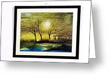 Moonlight At Masinagudi Greeting Card