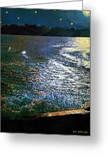 Moonlight On The Mississippi Greeting Card