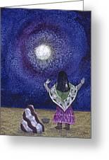 Moonlight Prayer Greeting Card