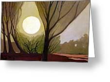 Moonlit Dream Greeting Card