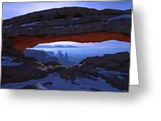 Moonlit Mesa Greeting Card