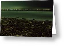 Moonlit Night - The Point Greeting Card
