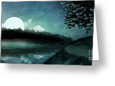 Moonlit Peace Greeting Card