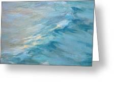 Moonlit Waves Greeting Card