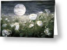 Moonpoppies Greeting Card