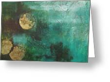 Moons Greeting Card