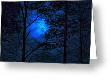 Moonshine 03 Bad Moon Rising Greeting Card