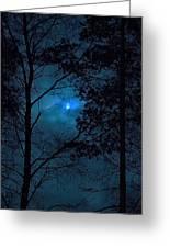 Moonshine 10 Blue Sky Greeting Card