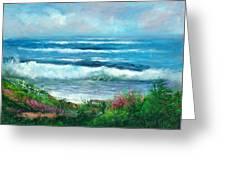 Moonstone Bench Greeting Card