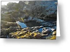 Moonstone Rock Greeting Card