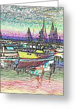 Moorage Greeting Card