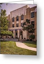 Moore County Courthouse Greeting Card