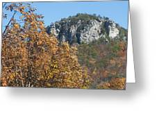 Moore's Knob Greeting Card
