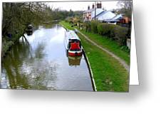 Mooring In England Greeting Card