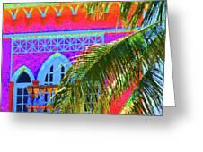 Moorish Deco Greeting Card
