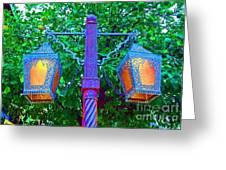 Moorish Lantern Greeting Card