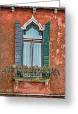 Moorish Window And Texture Venice_dsc5350_03052017 Greeting Card