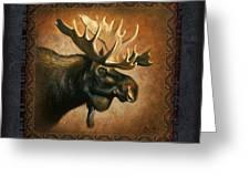 Moose Lodge Greeting Card by JQ Licensing