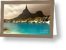 Mora Seascape Greeting Card