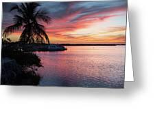 Morado Sunset Greeting Card