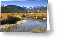 Morain Park Colorado Greeting Card