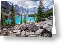 Moraine Lake Afternoon II Greeting Card