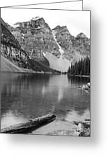 Moraine Lake II Greeting Card