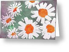 More Bunch Of Daisies Greeting Card