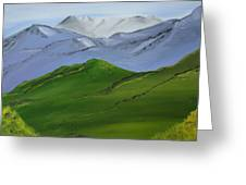More Mountains Greeting Card