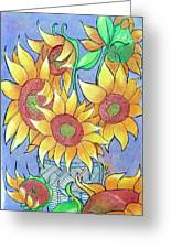 More Sunflowers Greeting Card