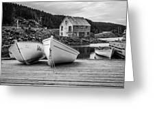 Moretons Harbour II Greeting Card
