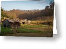 Morgan County Farm Valey Greeting Card
