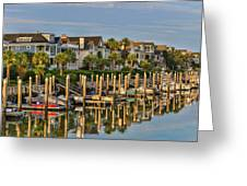 Morgan Place Homes In Wild Dunes Resort Greeting Card
