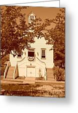 Mormon Pine Valley Meeting House Greeting Card