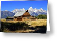 Mormon Row Barn 2 Greeting Card