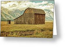 Mormon Row Barn No 3 Greeting Card