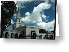 Mormon Temple Folsom Ca Greeting Card