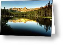 Morning At Lake Mamie Greeting Card
