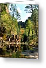 Morning At Oak Creek Arizona Greeting Card