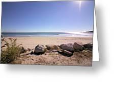 Morning At Qgunquit Beach 2. Greeting Card