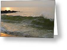 Morning At The Edge Of The Continent Greeting Card
