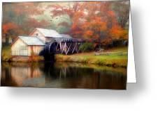 Morning At The Mill Greeting Card