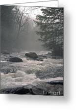 Morning At The River Greeting Card