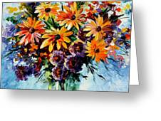 Morning Bouquet Greeting Card