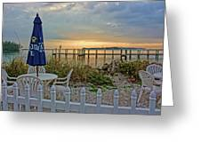 Morning By The Bay Greeting Card