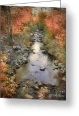 Morning By The Creek Greeting Card