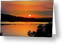 Morning Calm Greeting Card