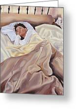 Morning Greeting Card by Denise H Cooperman